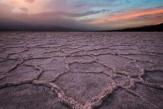 Sunset on Salt